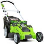 Akumulatorska kosilnica GreenWorks 25302 Twin Force je odlična naložba